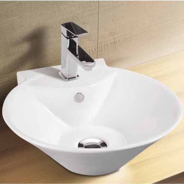 Western Design White Color Ceramic Wash Basin Excellent Quality Design Bathroom Sink Bowl View