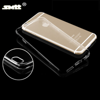 ultra-thin TPU transparent case for iphone 6s protect camera phone cover