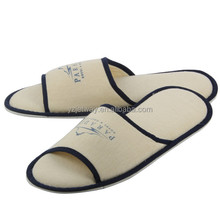 Best quality open toe mens spa slippers, hotel guest slippers