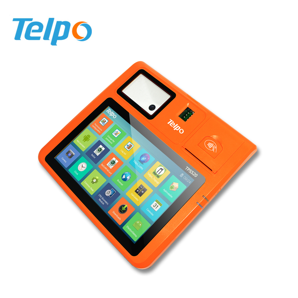 Stable Quality Android Credit Card Reader POS Tablets From China POS Manufacturer
