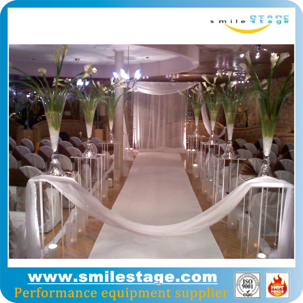 Adjustable pipe and drape pipe and drape curtain for wedding background