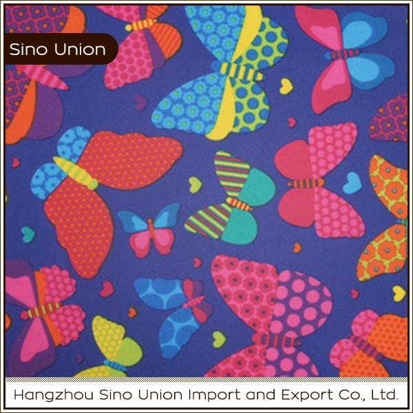 China manufacture wholesale strech 60t satin polyester fabric printed fabric