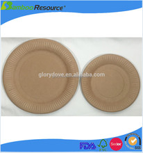New style food grade custom printed paper tray with top quality