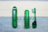 Top quality hotel mini toothbrush with foldable toothbrush set