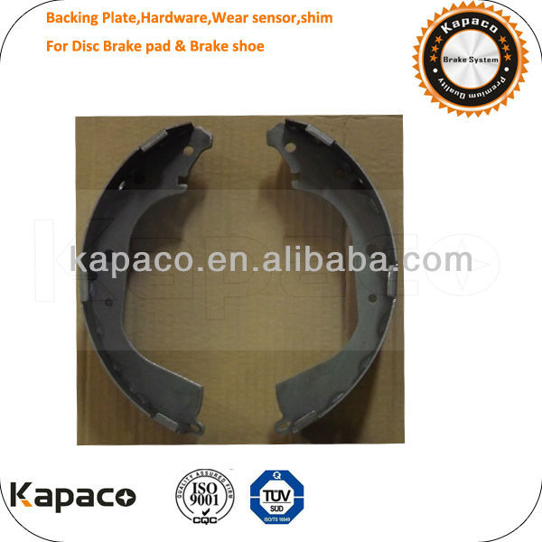 Back plate Brake shoe machine For Toyota Brake shoe K2280