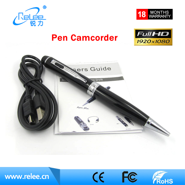 2017 New Audio Pen Recorder 1080P Hidden Spy Cams Camera with voice recorder