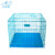 User-friendly Folding stainless Metal Dog animal Cage houses
