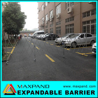 Road Safety Portable Metal Extending Fence