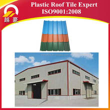 Building Materials PVC roof tile Shingle Clear Plastic Corrugated ROOFING