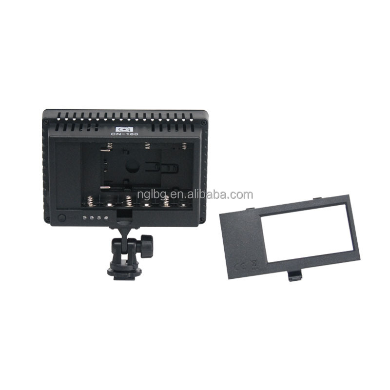 CN-160 LED video light On Camera light for dslr DV Camcorder