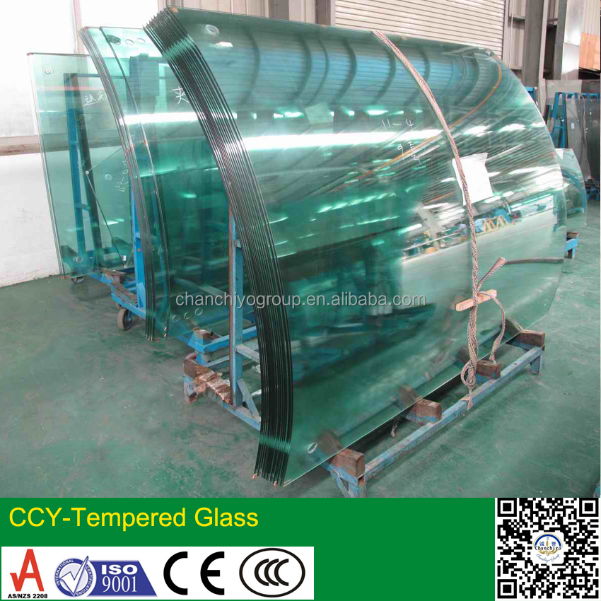 hot sell curved tempered glass