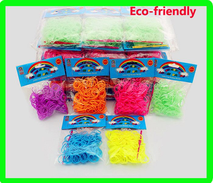 Cheap Factory Price Crazy Loom Bands Wholesale, Loom Elastic Bands Dropship Wholesale Loom Bands
