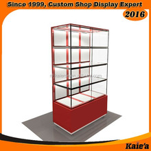 2016 new Glass wall watch display case