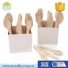 Camping use single use lunch box cutlery set classic for knife, fork, spoon