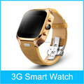 Android bluetooth smart watch gsm mobile watch phone with video call
