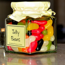 Halal Jelly Bean Soft Candy Multi-Colored Beans
