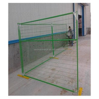 PVC coated /galvanized Canada standard temporary construction fence/removable