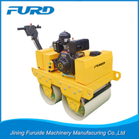 Furuide Road Roller Walk Behind Tandem Drum Vibrating Roller Parts FYL-S600C