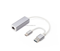 USB 3.0/Type C to Gigabit Ethernet Adapter
