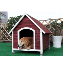 A-Frame Wooden Dog House Wood Timber Kennel