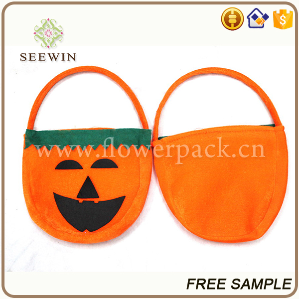 Gifts & Crafts decorative pumpkin wholesale halloween bags for kids