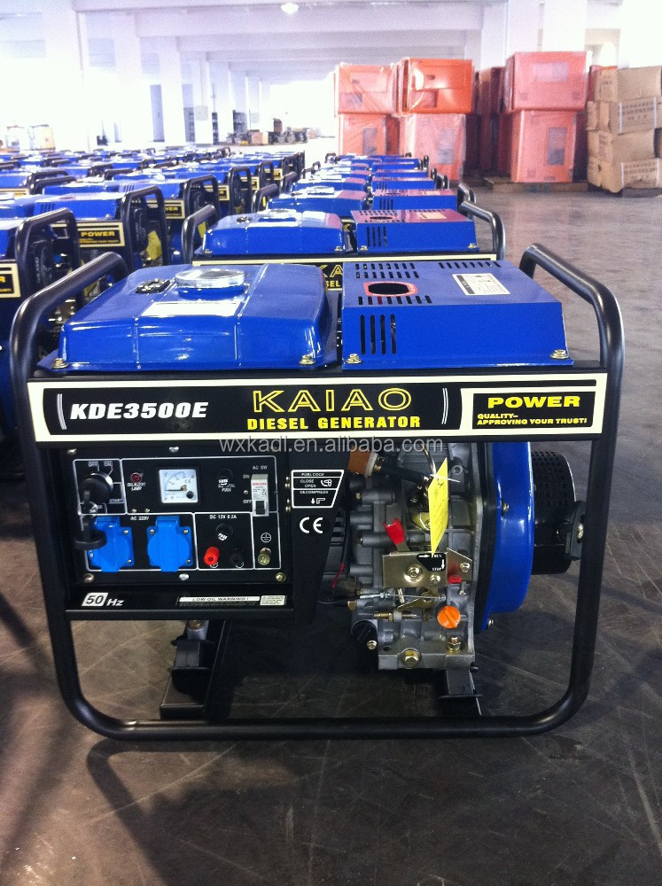 3 kw, 5kw portable diesel generator home use Best quality