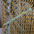 2017 Fashion Golden Hook Chain Linked Office Partition Divider