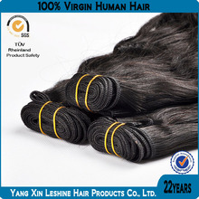 2014new arrival high quality 100%virgin human cheap double drawn remy wholesale brazilian wavy hair weave for black lady