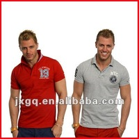 Men's design cheap price cotton logo breathable custom polo sport t-shirt design