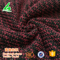 Factory price cotton polyester elastane loose sweater knit fabric