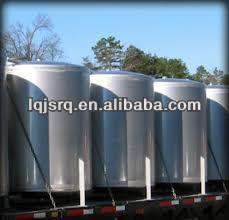 Verical carbon steel water storage tank for sale