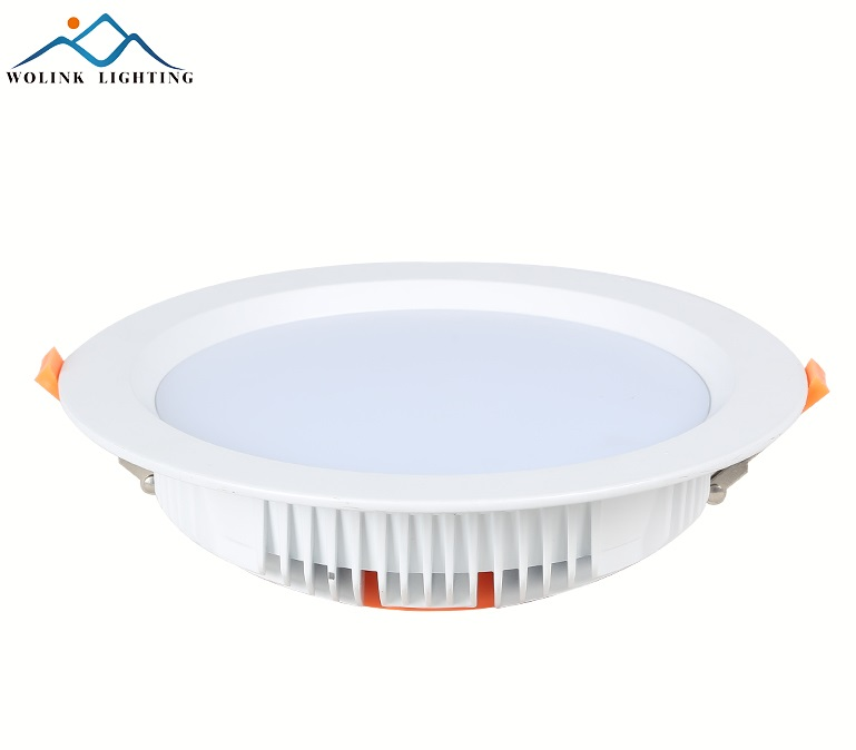 6Inch Square Recessed 15W LED Ceiling Dimmable Downlight Baffle Housing