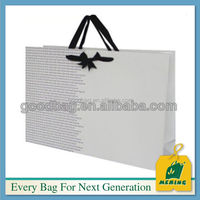 window greaseproof tint kraft paper shopping bag
