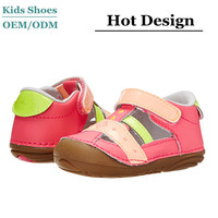 hot selling factory price italian leather baby shoes soft sole summer baby leather shoes