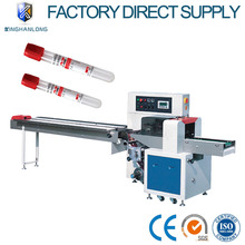 Automatic medical test tube pillow type horizontal flow packing machine foshan manufacturer