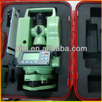 2013 HOT SELLING LASER LINE DIGITAL theodolite surveying instrument PJK DE2A south theodolite dt 02