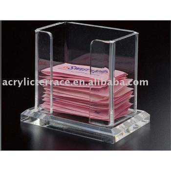 customized acrylic tea bag holder tea box tea box holder view acrylic tea bag holder vanjin. Black Bedroom Furniture Sets. Home Design Ideas