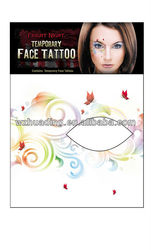Fashion eye rock tattoo stickers/ eye rock crystal eye tattoo