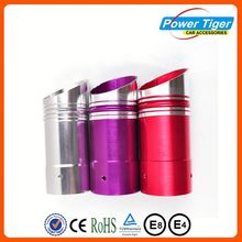 Good quality titanium blue muffler