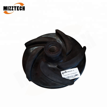 MIZZTECH High Chrome Alloy Single Stage Centrifugal Slurry Pump Impeller
