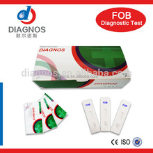 One Step Tumor Marker Tests FOB Rapid Test Card