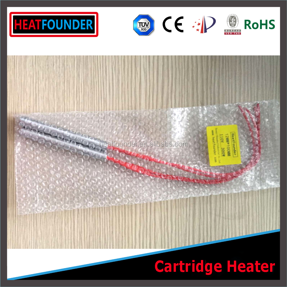 HEATFOUNDER Customized High Temperature Hot Catridge Heater Stick for Water Air