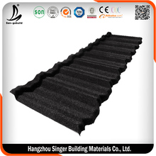 Metal Building Products- Modern Classical Black color Metro tile