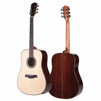 All Solid Wood Acoustic Guitar 41