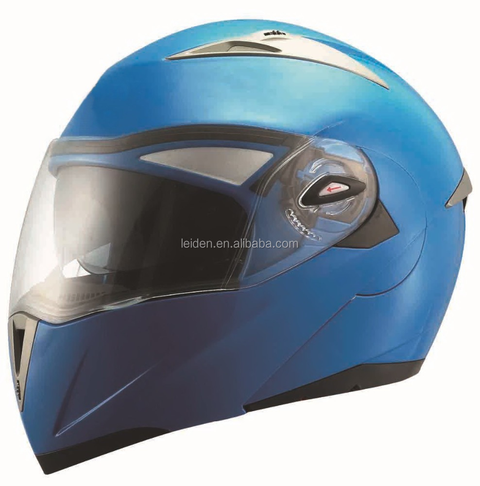 ABS material FLIP UP helmet for motorcycle / dirbike with double visor