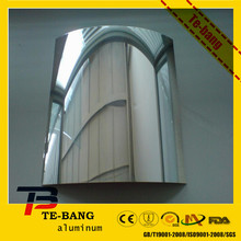 Professional manufacturer 1.8mm aluminum mirror for lamps and lanterns with IKEA & ISO9001:2000