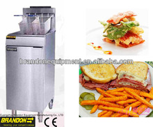 deep fryer for fried chicken 25liter oil capacity stainless steel fry pot