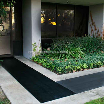 Xuancheng anti-slip fine ribbed rubber flooring mats