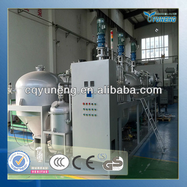 Waste oil regeneration Plant for Car/truck/other vehicles Motor oil recycling