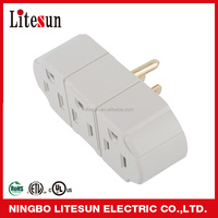 LA 3B UL CUL 3 outlets Adapter